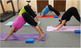 yoga classes at connect pt