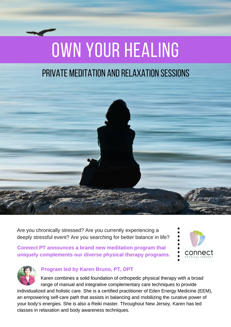 own your healing: meditation and relaxation